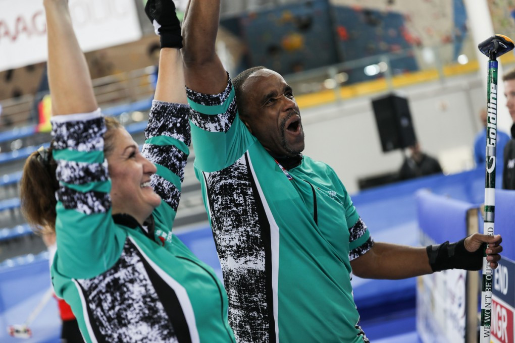 The World Mixed Doubles Curling Championships saw three nations without ice rinks competing for the first time at this level – Kosovo, Mexico and Nigeria ©WCF