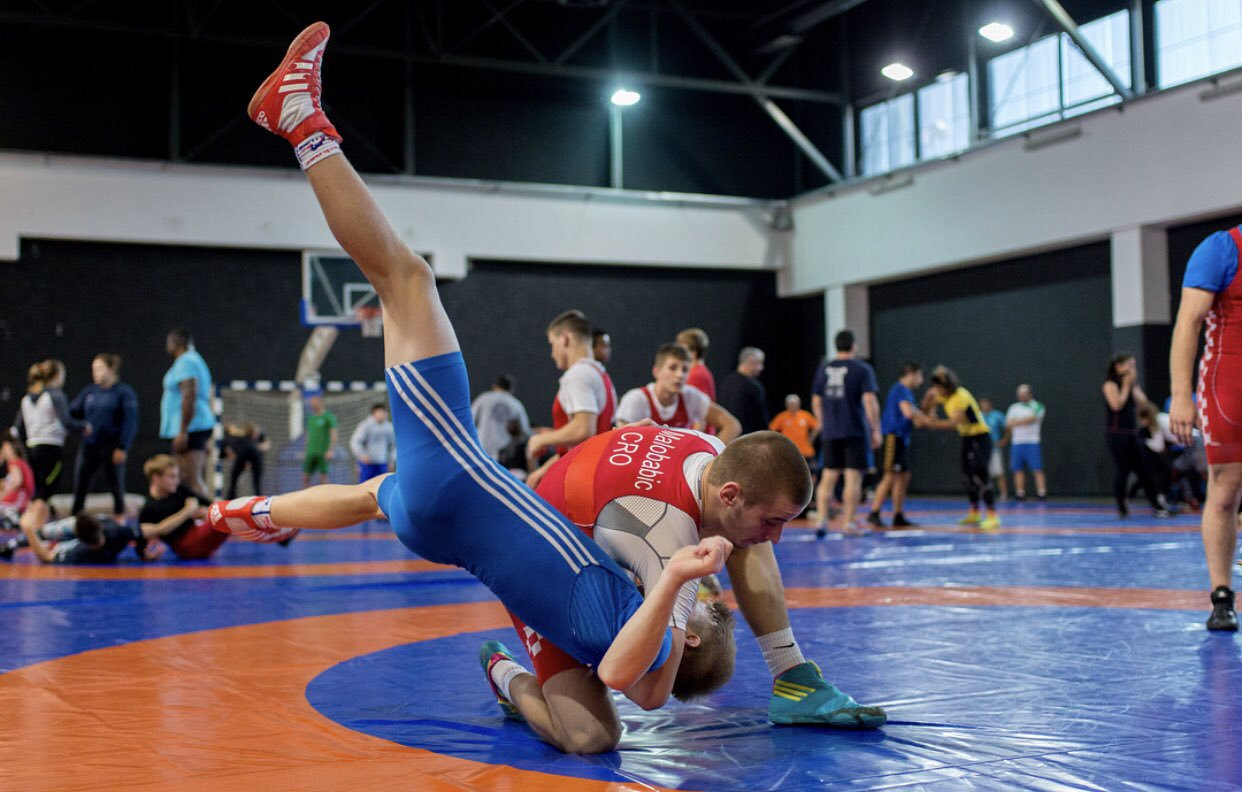 Young wrestlers gather for 2019 World Cadet Championships in Sofia