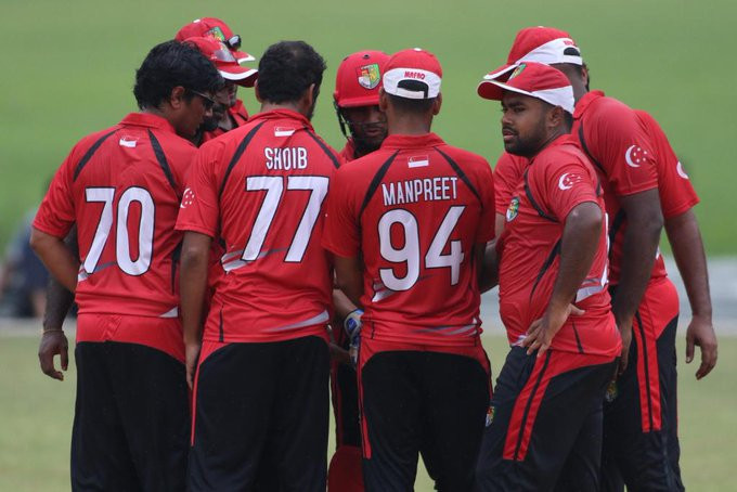 Singapore beat Nepal to secure spot at ICC Men's T20 World Cup qualifier