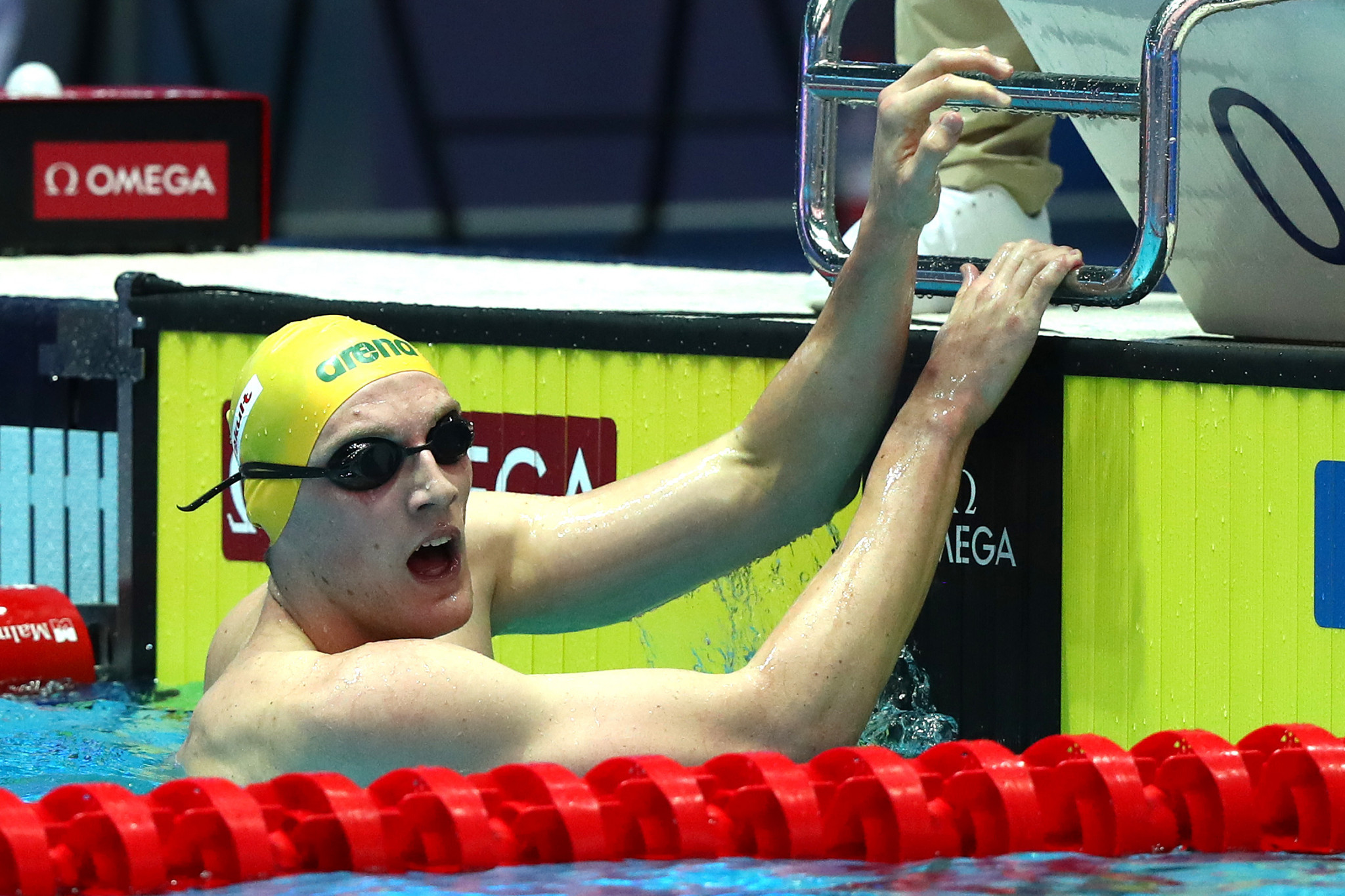 Mack Horton, who protested against Sun Yang by refusing to join him on the podium, backed the decision to provisionally suspend Shayna Jack ©Getty Images