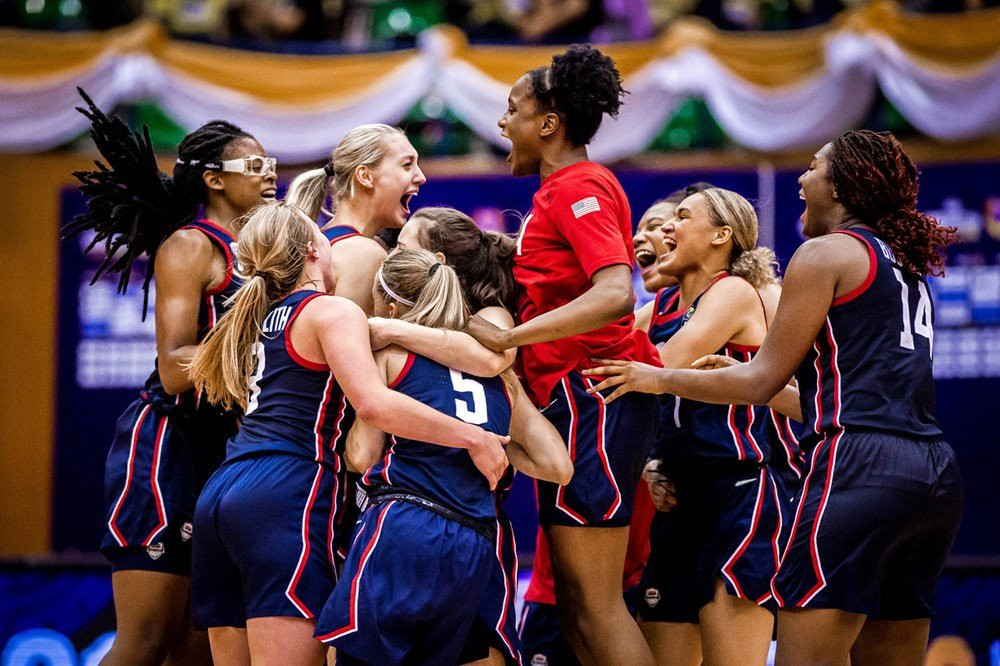 United States win eighth FIBA Under-19 Women's World Cup after enthralling overtime victory against Australia