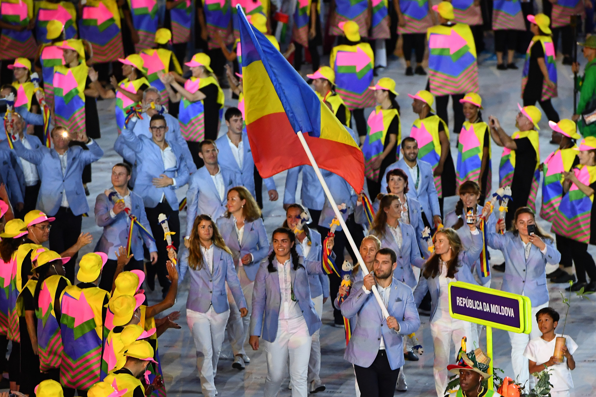 The group of athletes and coaches made numerous allegations against the Moldova NOC ©Getty Images