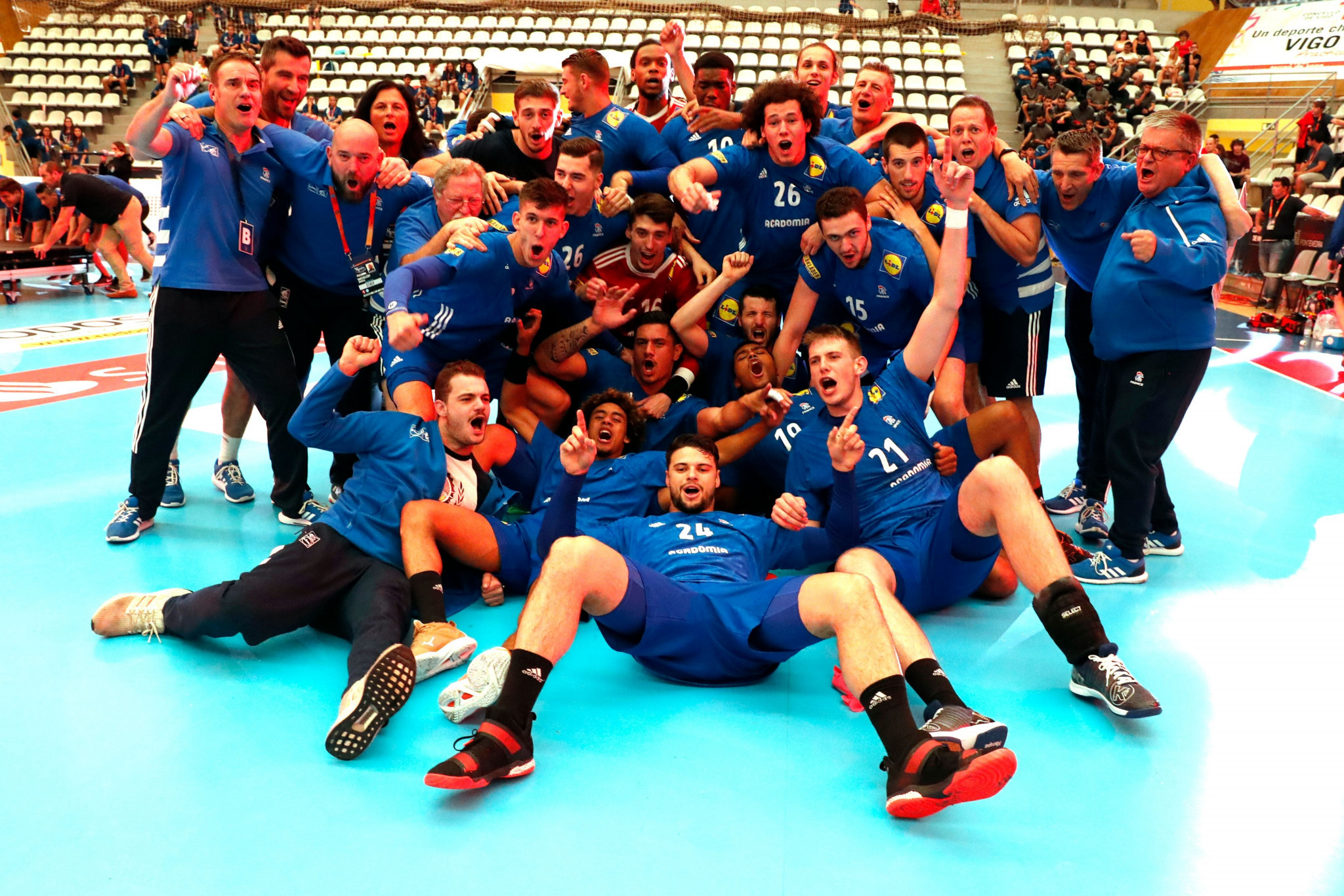 France win Men's Junior World Handball Championship for a second time