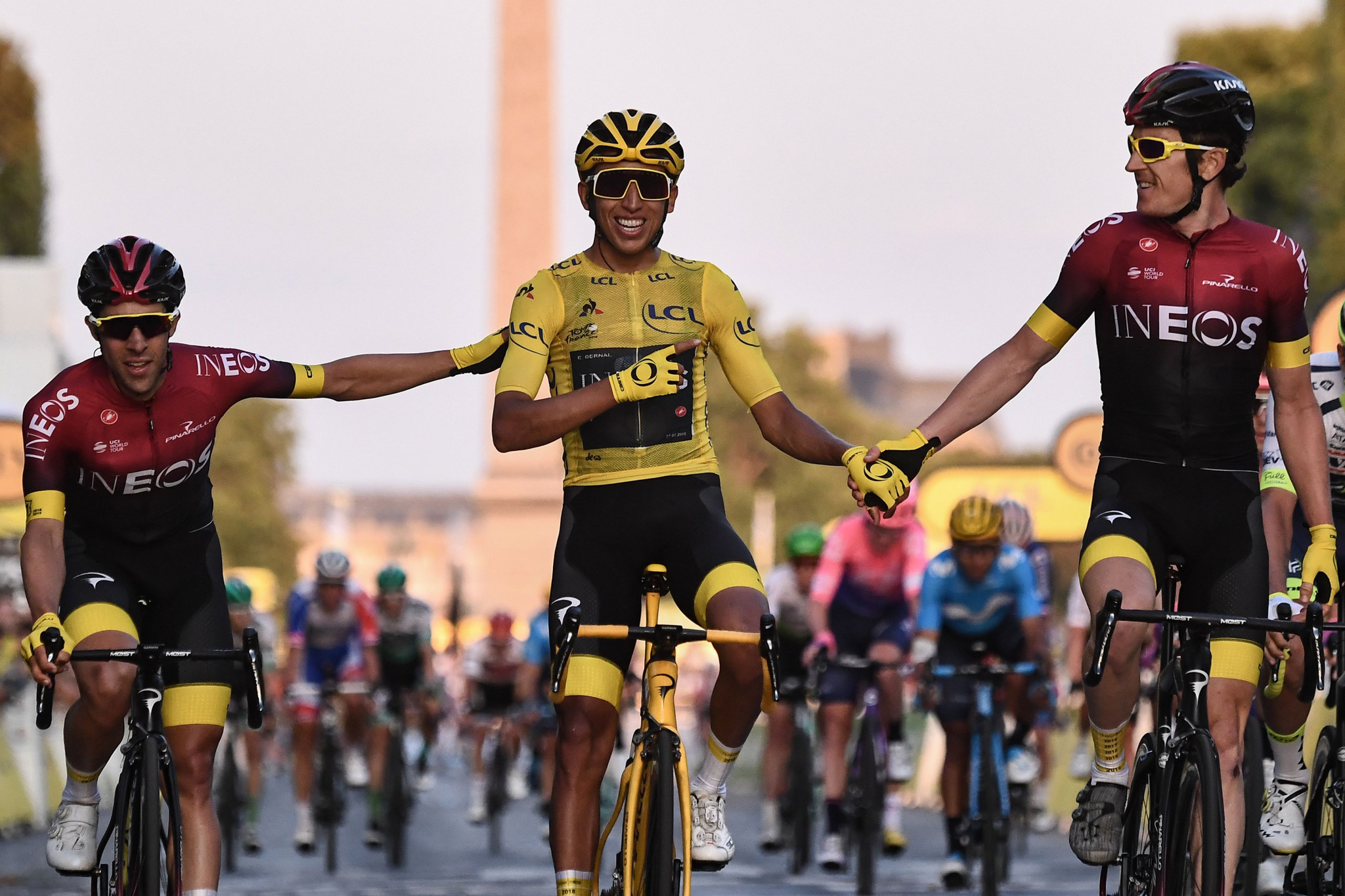 Bernal crowned first Colombian winner of Tour de France after final stage in Paris