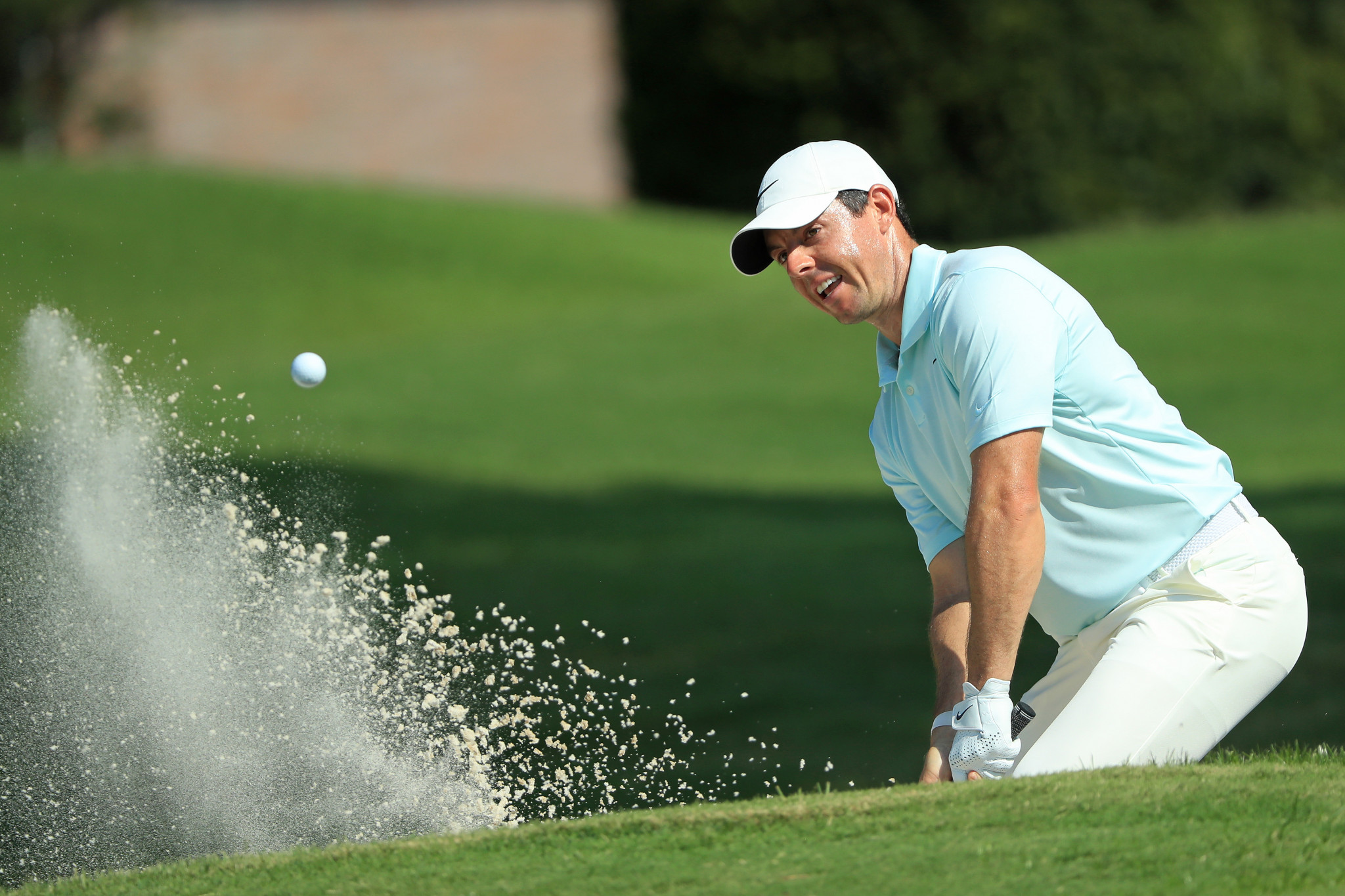 Rory McIlroy faded and lost his overnight lead  ©Getty Images