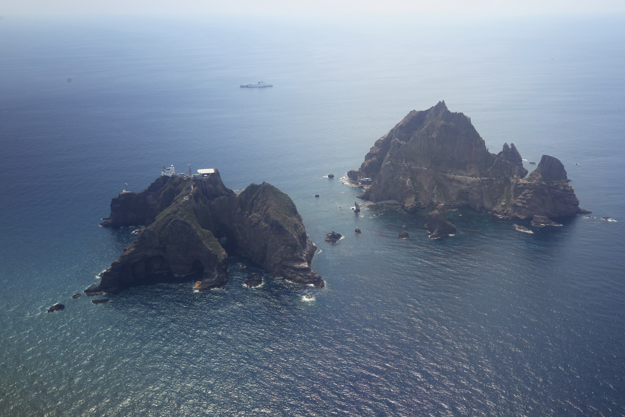 The Liancourt Rocks are claimed by both South Korea and Japan ©Getty Images