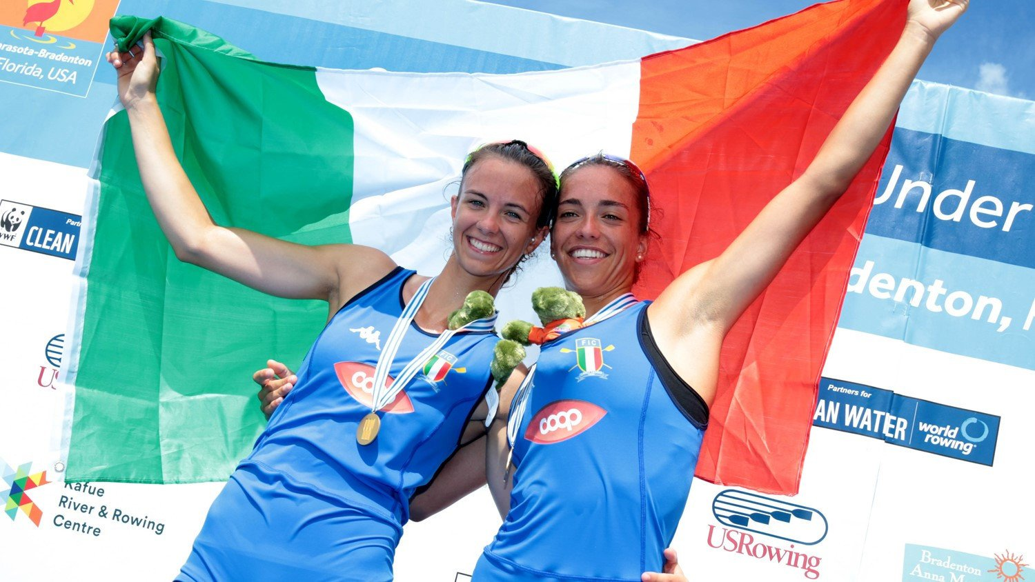 Italy finished level with Britain on six golds at the World Rowing Under-23 Championships and won more medals with a total of 11 ©World Rowing