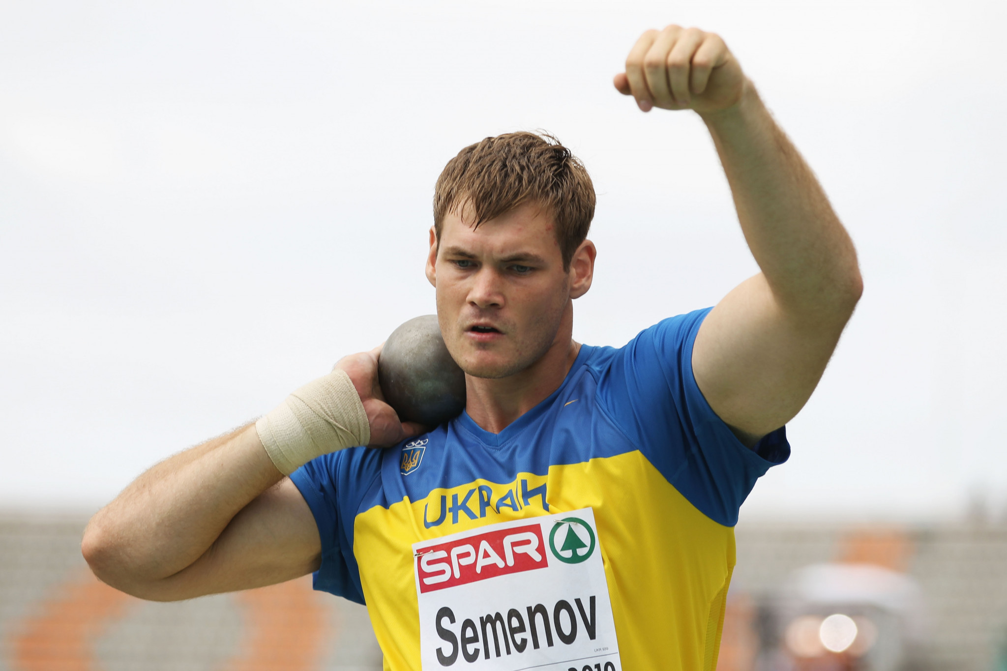 Ukraine shot putter Semenov suspended by Athletics Integrity Unit after failed test