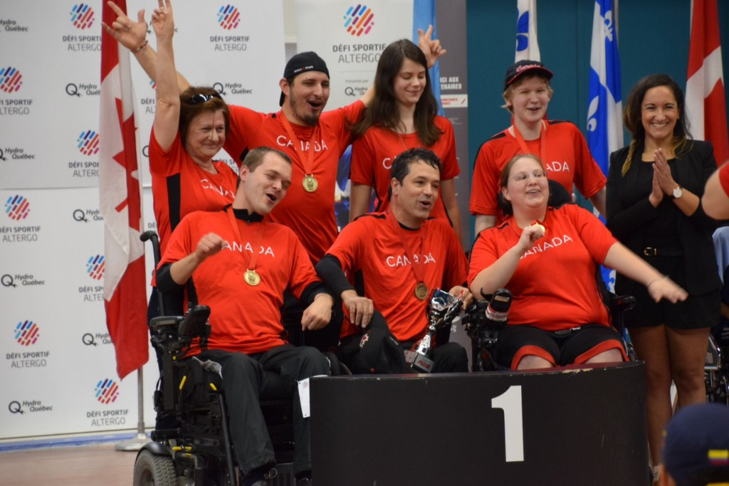 Hosts Canada take three medals at Boccia Americas Team and Pairs Championships