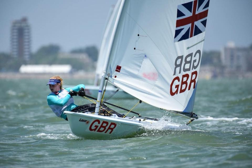 Nicholls wins twice to strengthen lead at Laser Radial Youth World Championships