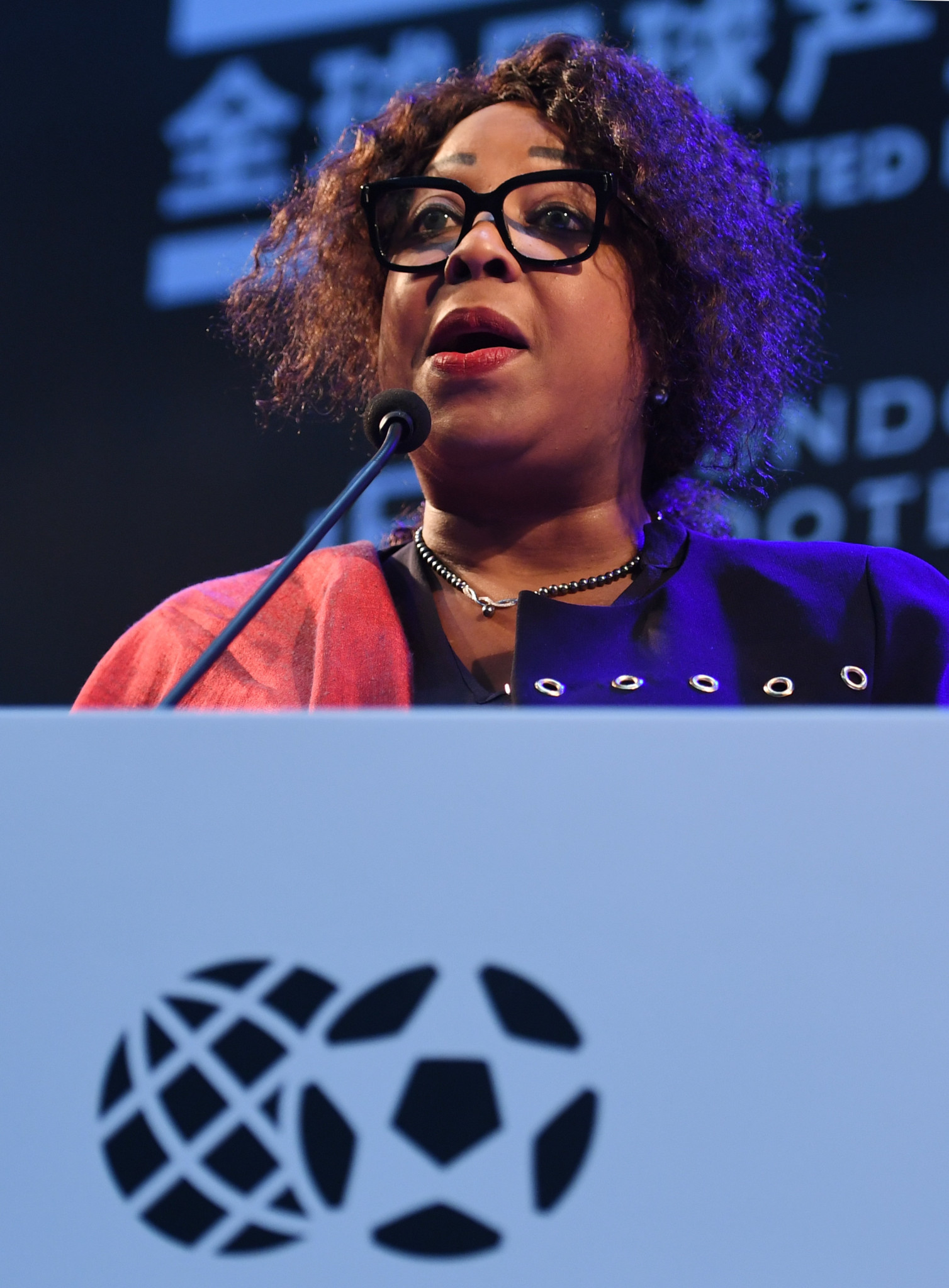 FIFA secretary general Fatma Samoura outlined the changes in a letter to member associations ©Getty Images