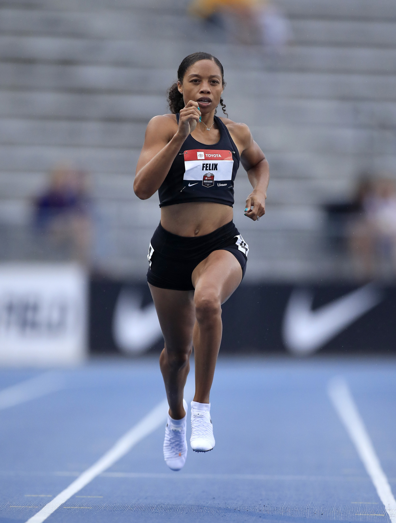 Multiple Olympic gold medallist Allyson Felix is among a group of seven American athletes who will be sponsored by Bridgestone Americas in the build-up to Tokyo 2020 ©Getty Images