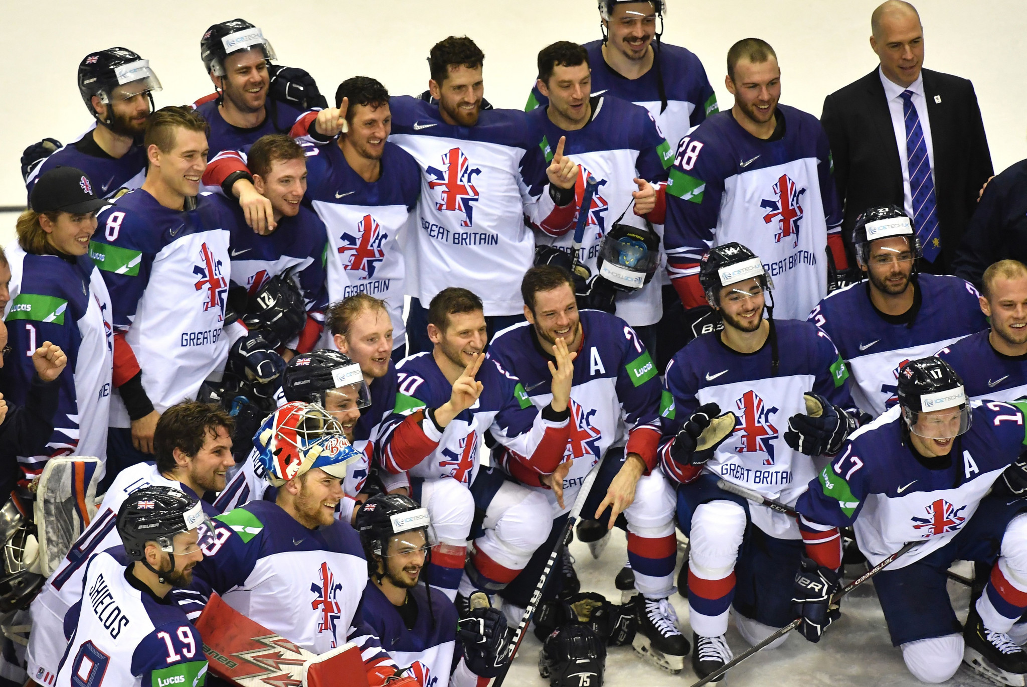 Martin Grubb has been tasked with bringing through the next crop of British ice hockey stars in his new role as head coach of the under-20 national team ©Getty Images