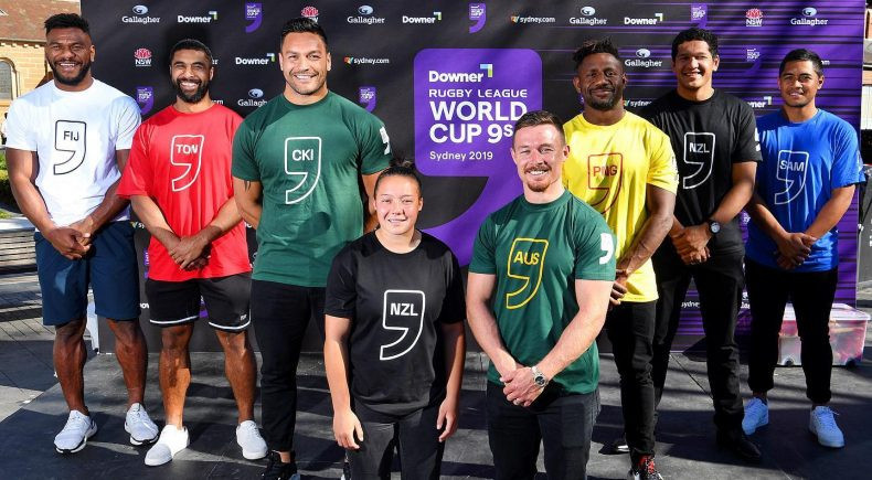 Pools confirmed for 2019 Rugby League World Cup 9s