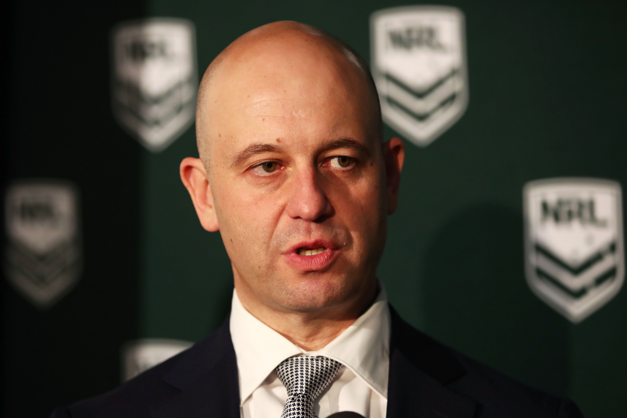 Todd Greenberg, a RLIF Board member and the chief executive of the NRL in Australia, claimed the format of the pools would ensure key rivals would face each other ©Getty Images