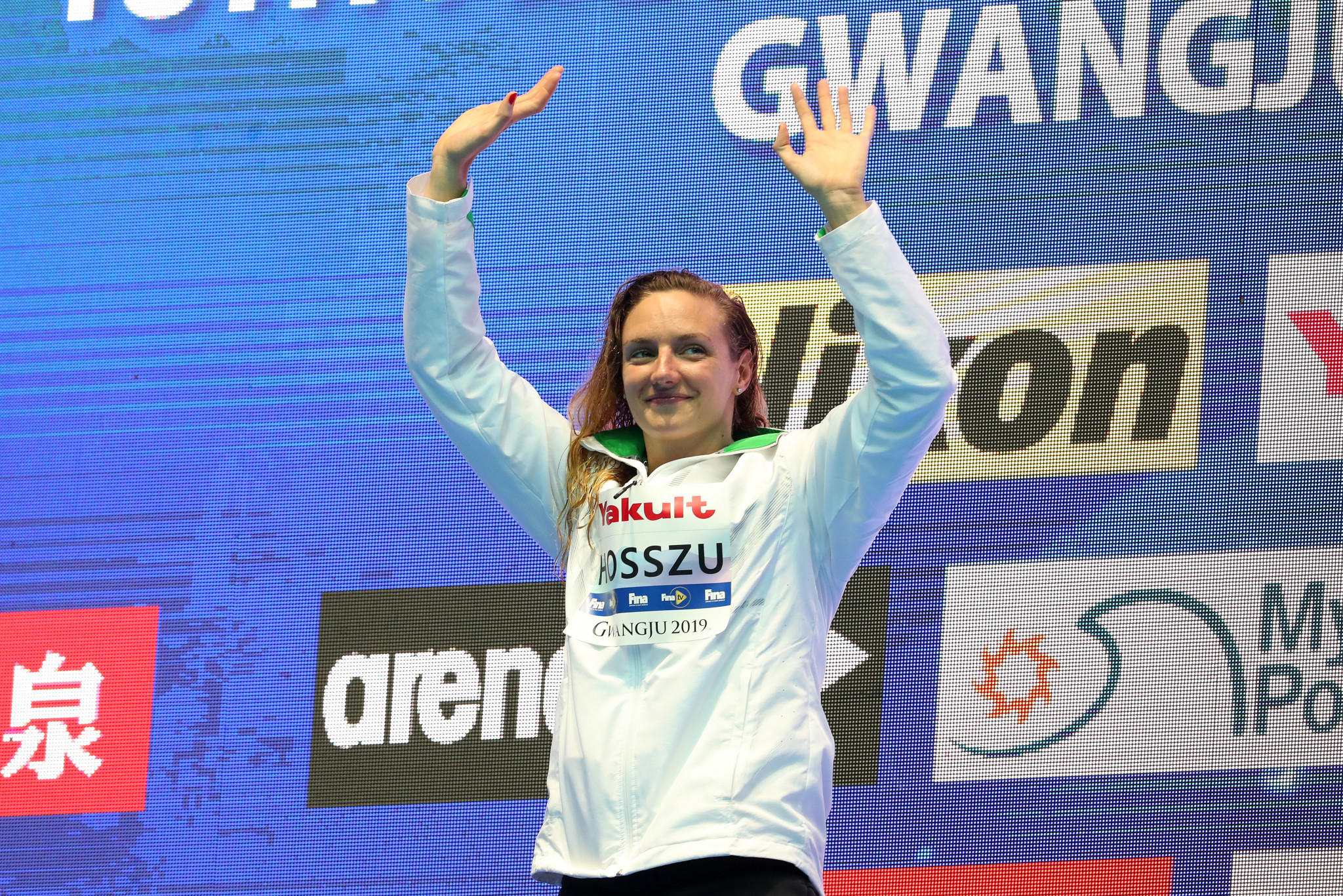 Three-times Olympic champion and multiple World Championships gold medallist Katinka Hosszú was among a group of swimmers who pressured Tamás Gyárfás to resign from his role as Hungarian Swimming Federation President in 2016 ©Getty Images