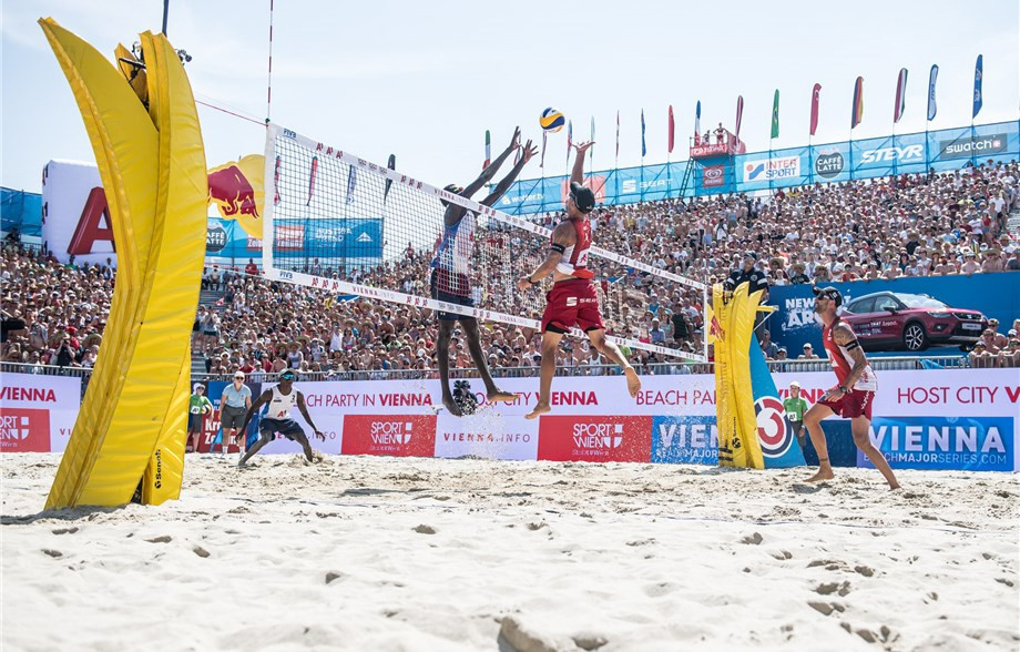 FIVB Beach World Tour set to continue with five-star event in Vienna