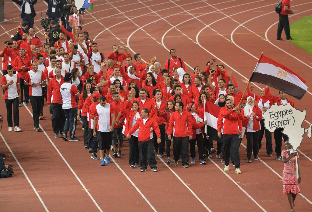 Egypt finished top of the medals table at the All-Africa Games in Brazzaville