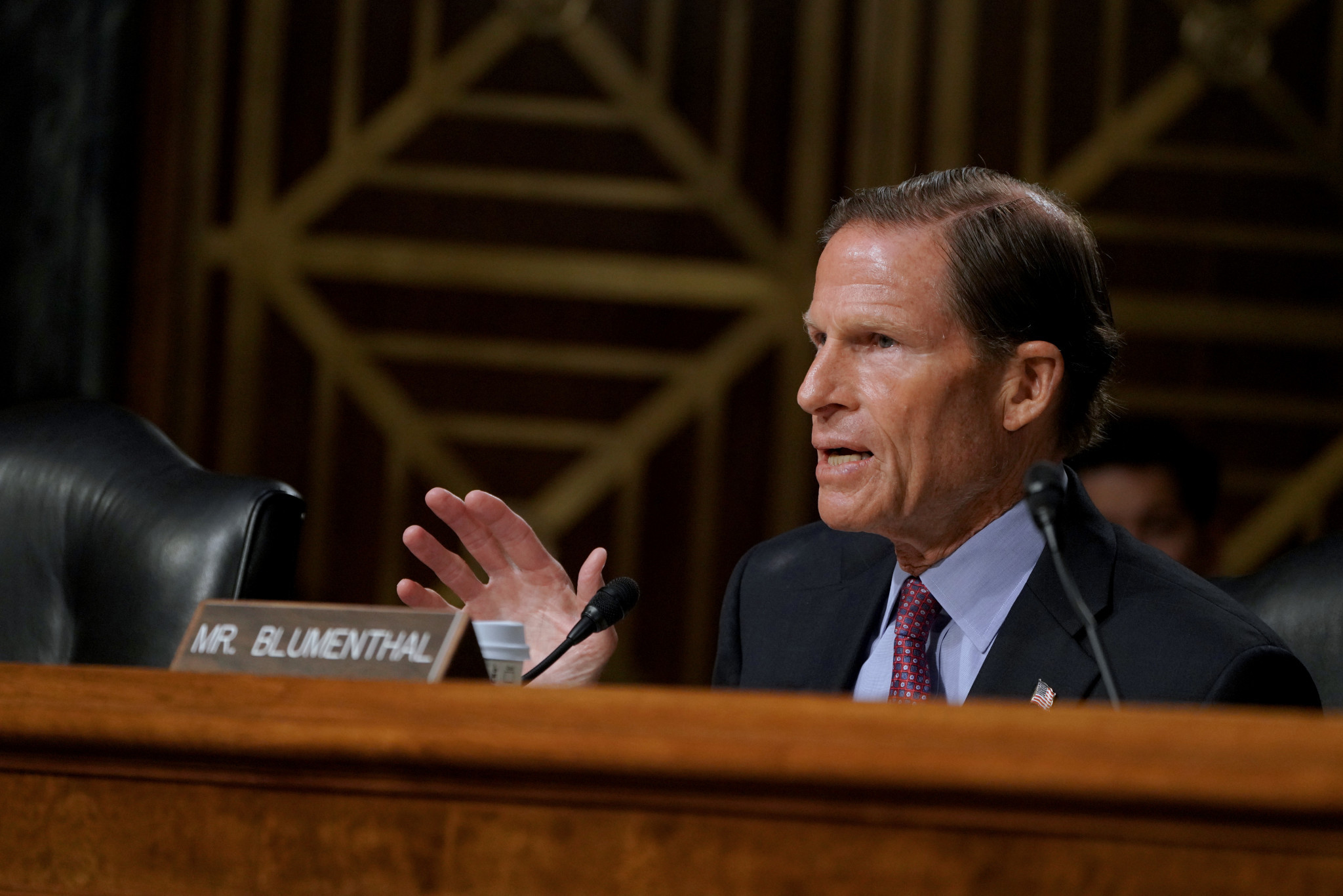 Two United States Senators, including Richard Blumenthal, have carried out a damning 18-month investigation into the US Olympic and Paralympic Committee ©Getty Images