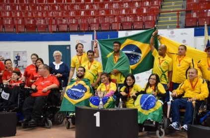 Brazil took one gold and two silver medals