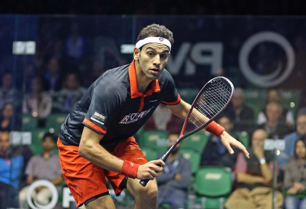 Elshorbagy begins quest for maiden PSA Men's World Championship title with comfortable first round win
