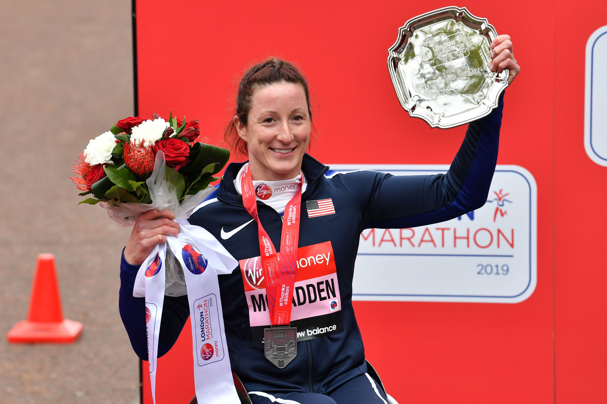 Wheelchair racer Tatyana McFadden is also among the six athletes on the programme ©Getty Images