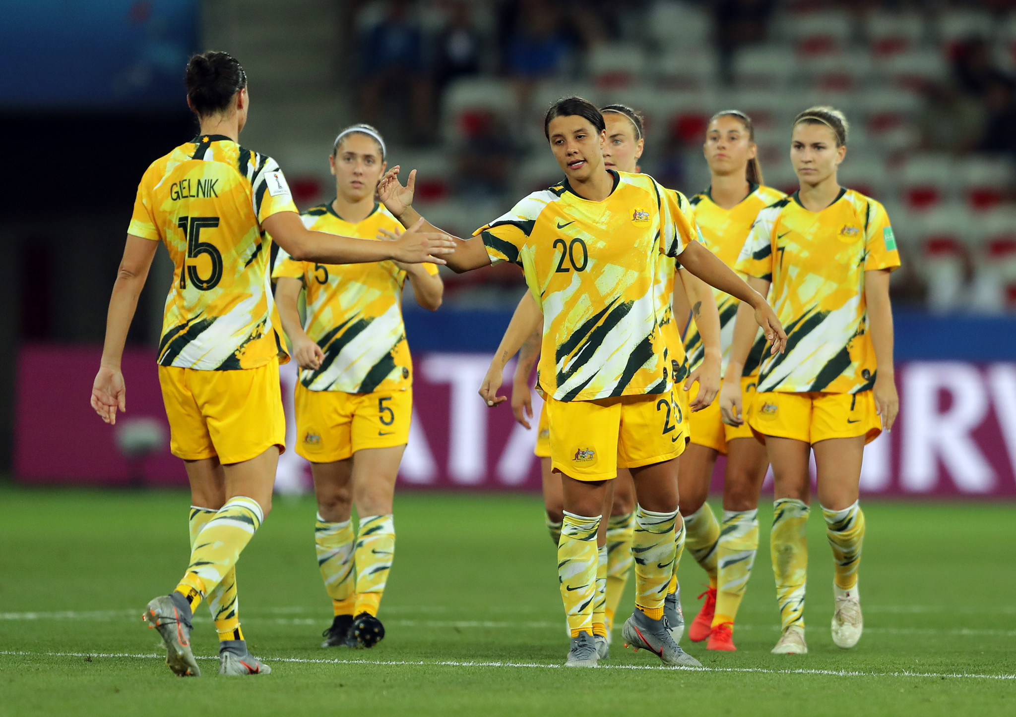 Australia have competed in the FIFA Women's World Cup seven times and reached the last 16 at France 2019 ©Getty Images