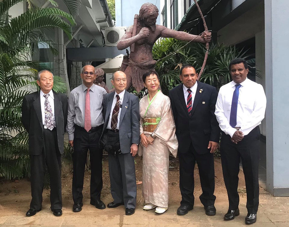 Sri Lanka NOC welcomes Hashima City delegation as Tokyo 2020 preparations continue