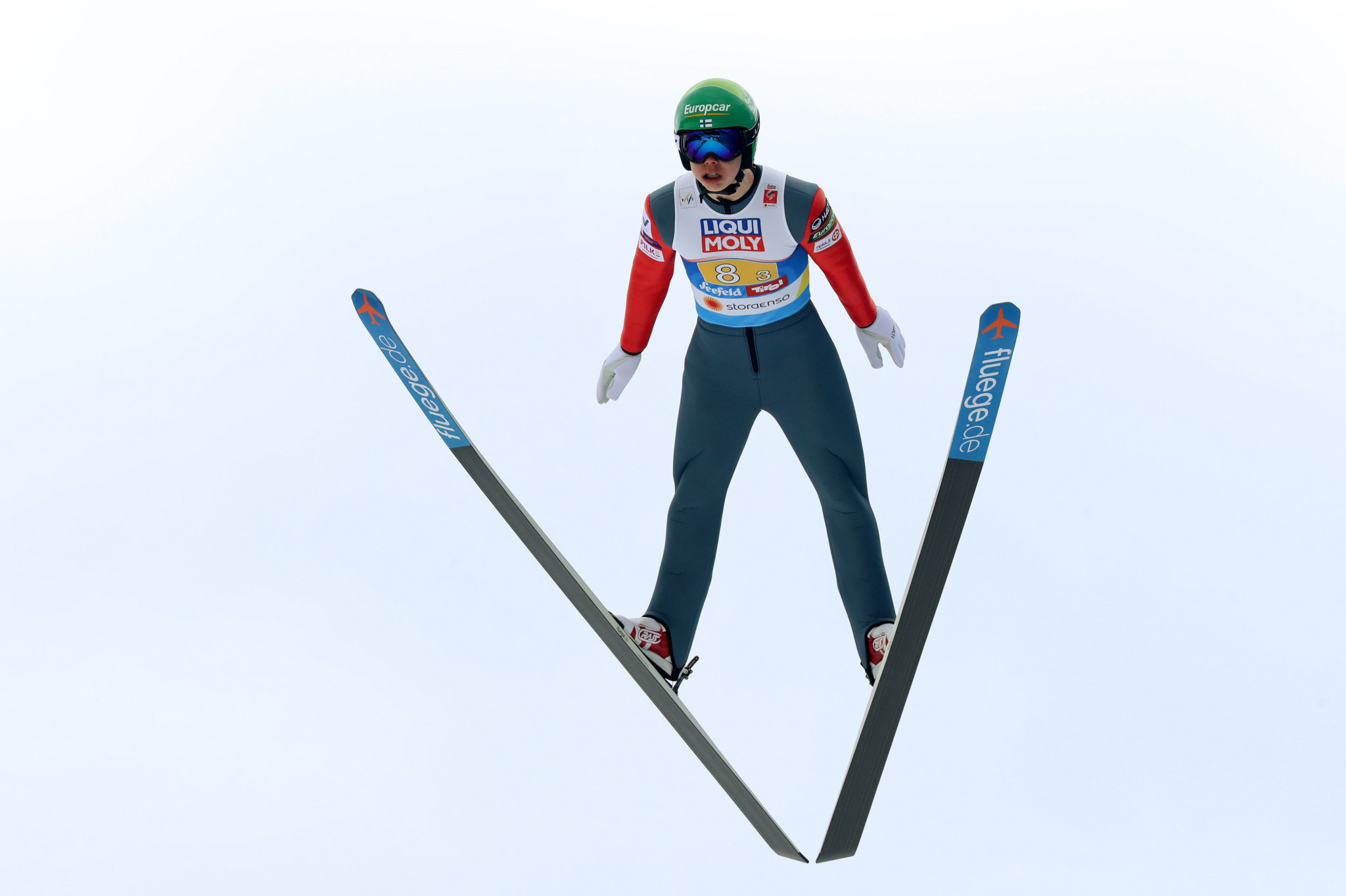 Former junior world champion shows support for development of women's Nordic combined
