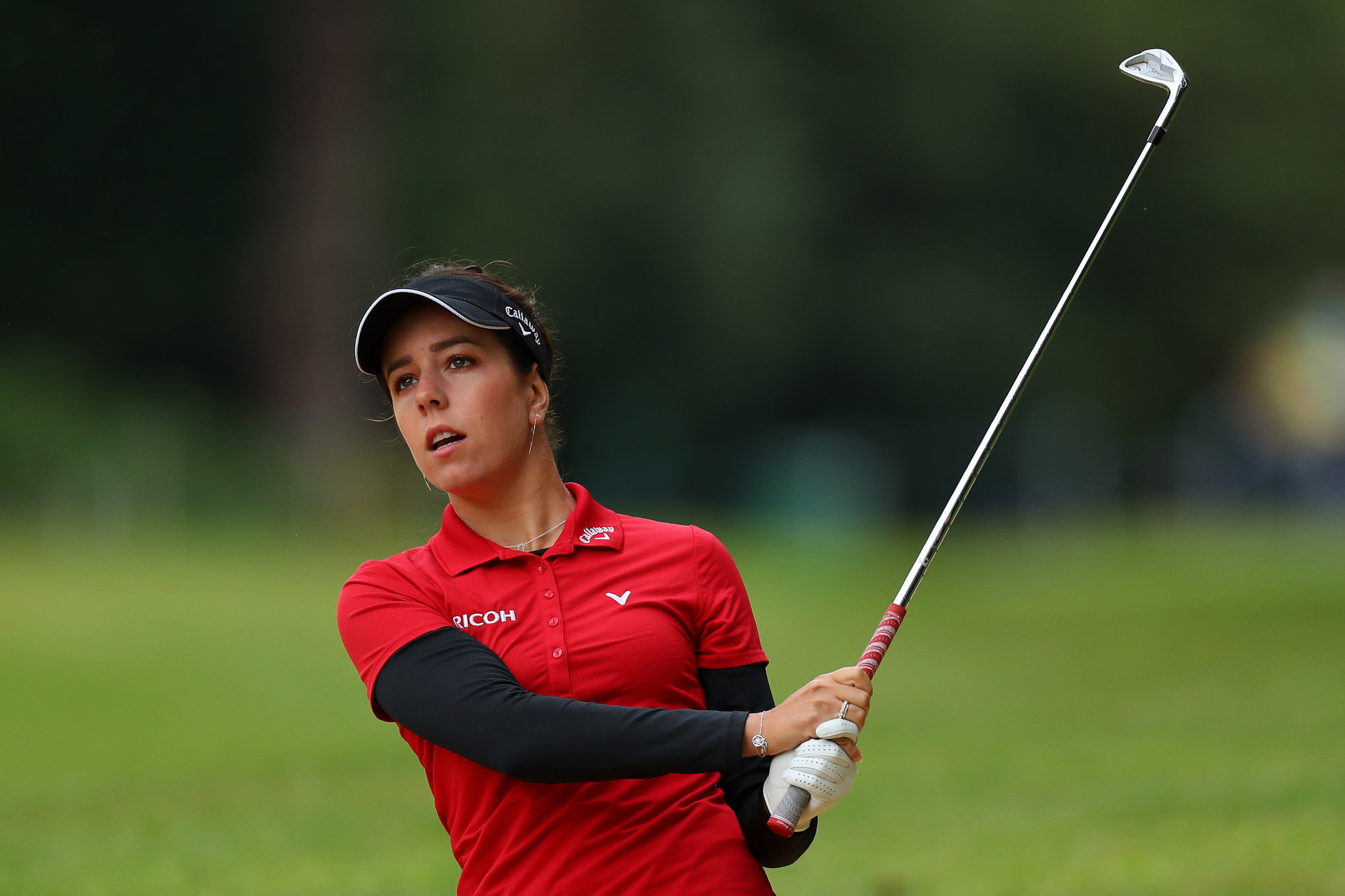 Hall out to defend title at Women's British Open and win back trophy stolen from her car