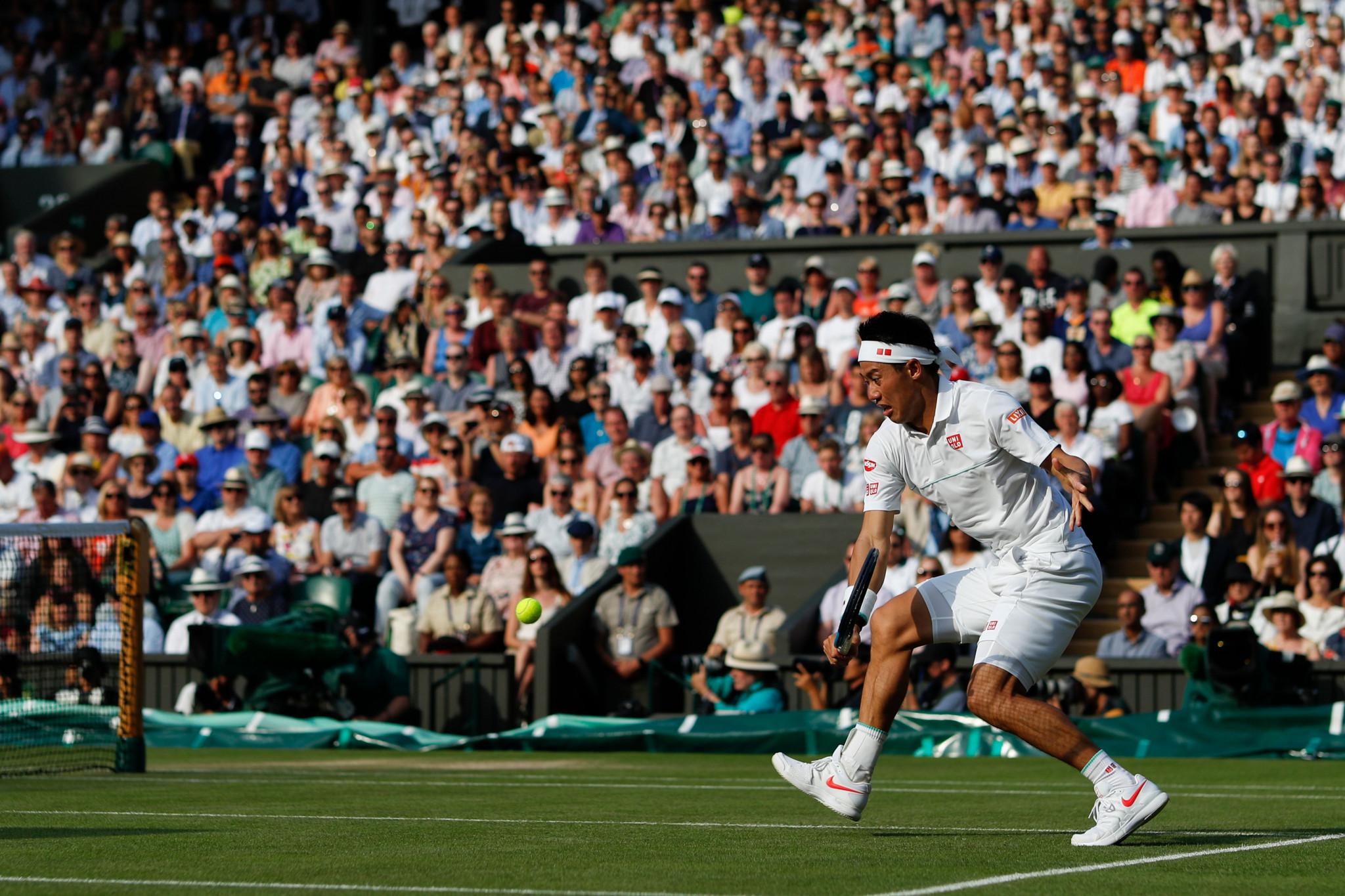 Nishikori eyes second Olympic tennis medal on home ground of Ariake Park