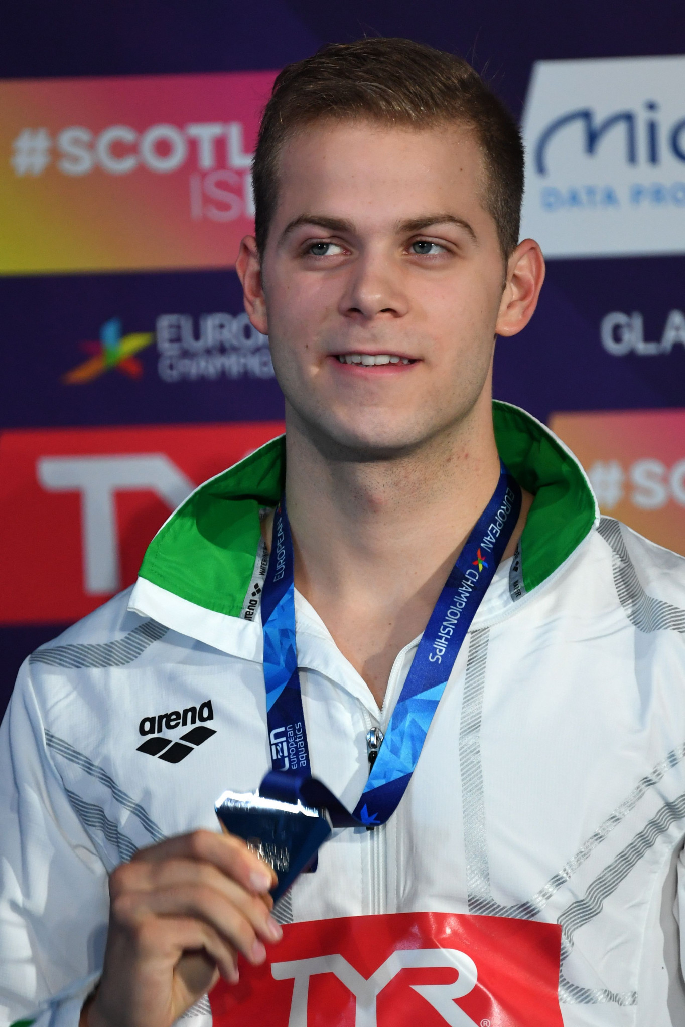 Tamás Kenderesi was in Gwangju competing at the FINA World Aquatics Championships earlier this month ©Getty Images