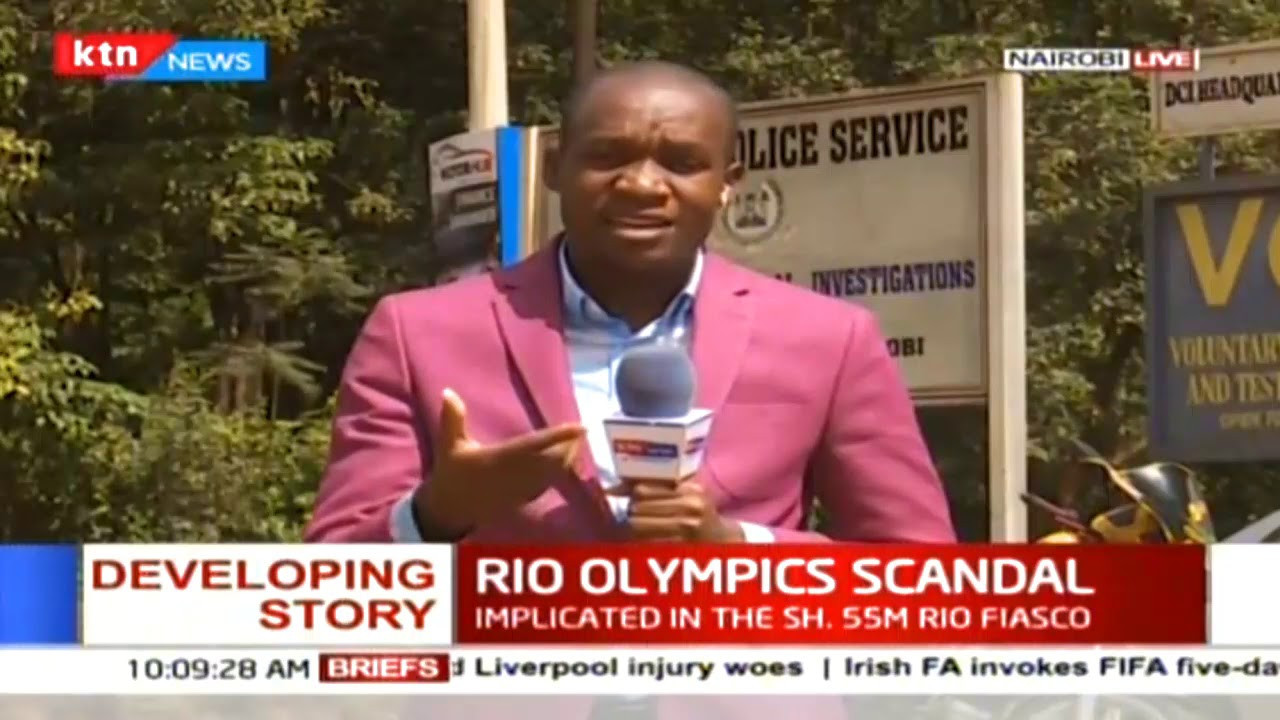 Kenya's outstanding performance at the 2016 Olympic Games in Rio de Janeiro was overshadowed by a corruption scandal involving top officials ©YouTube
