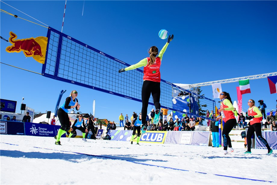 On your marks, get set, snow - Argentina set to host last of this season's latest volleyball formats