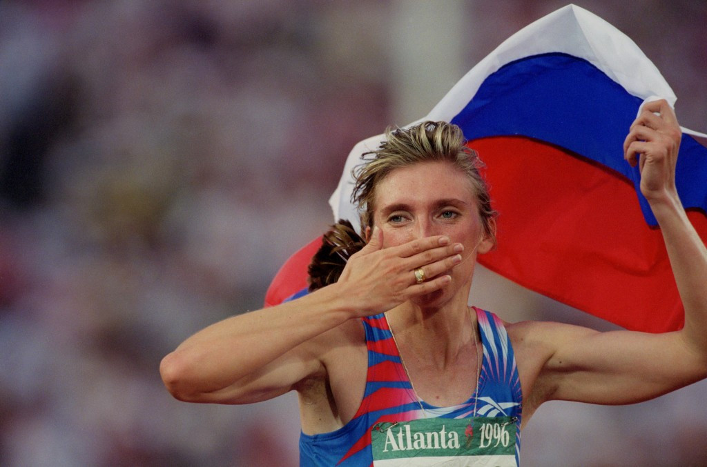 Svetlana Mastrkova, winner of the 800 and 1500 metres a the 1996 Olympics in Atlanta, could stand to become President of the All-Russia Athletics Federation