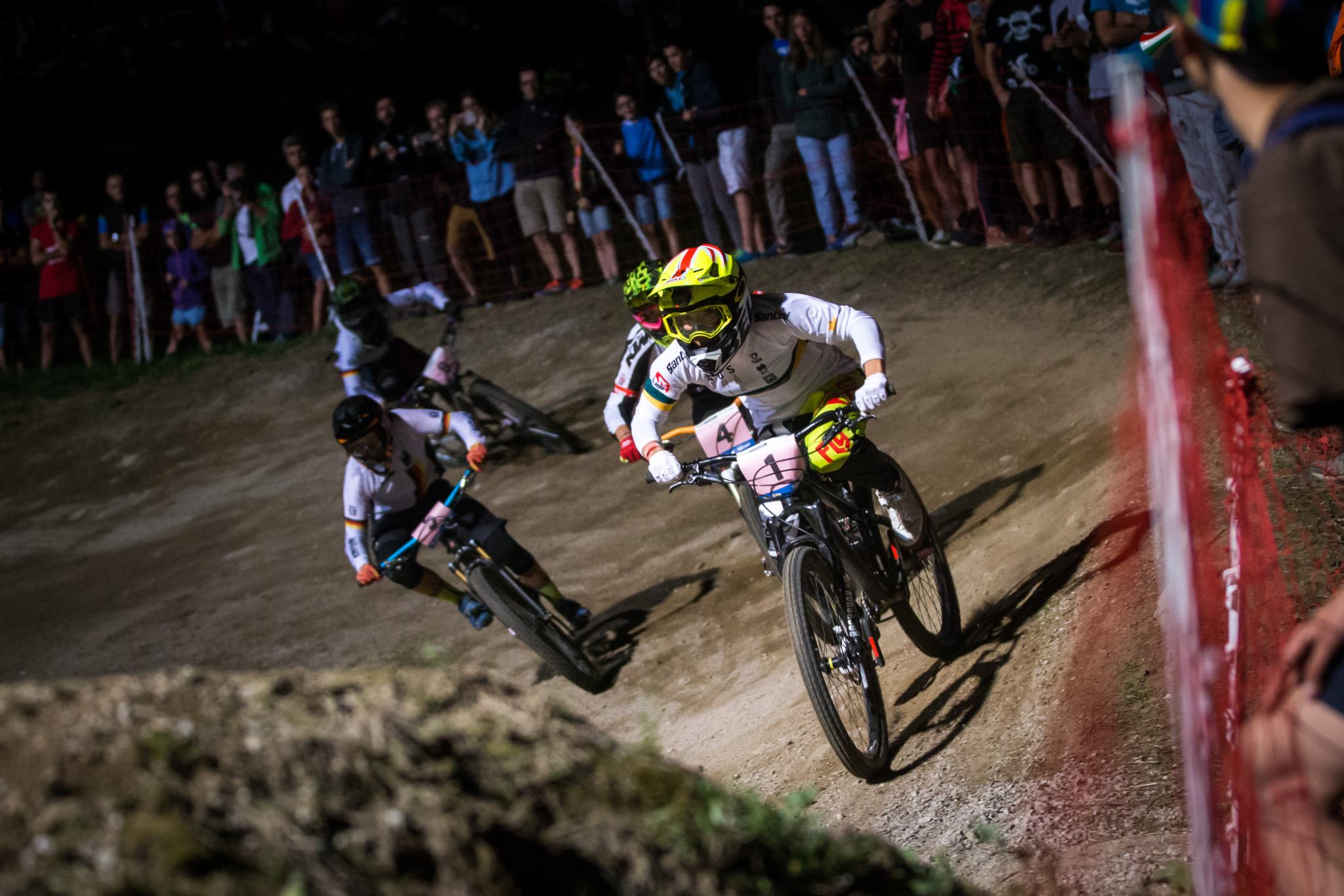 Romana Labounková and Quentin Derbier are set to defend their titles at the UCI Mountain Bike 4X World Championships that start in Val di Sole in Italy tomorrow ©Getty Images