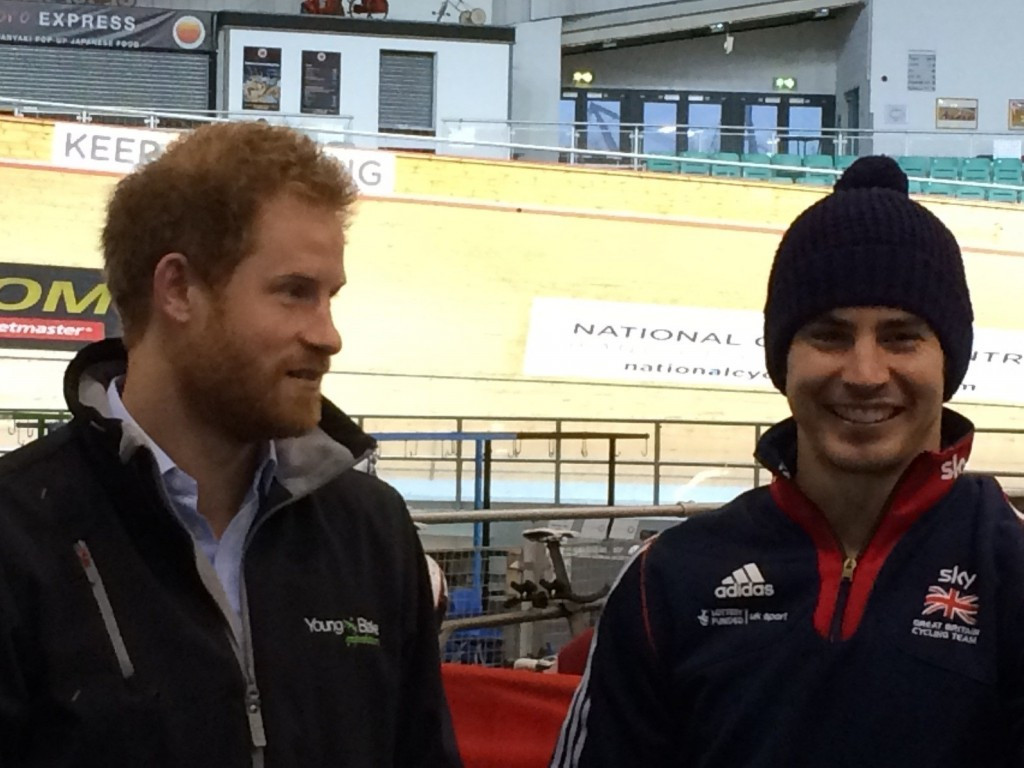 Britons receives Royal support as hosts dominate Manchester Para-cycling International