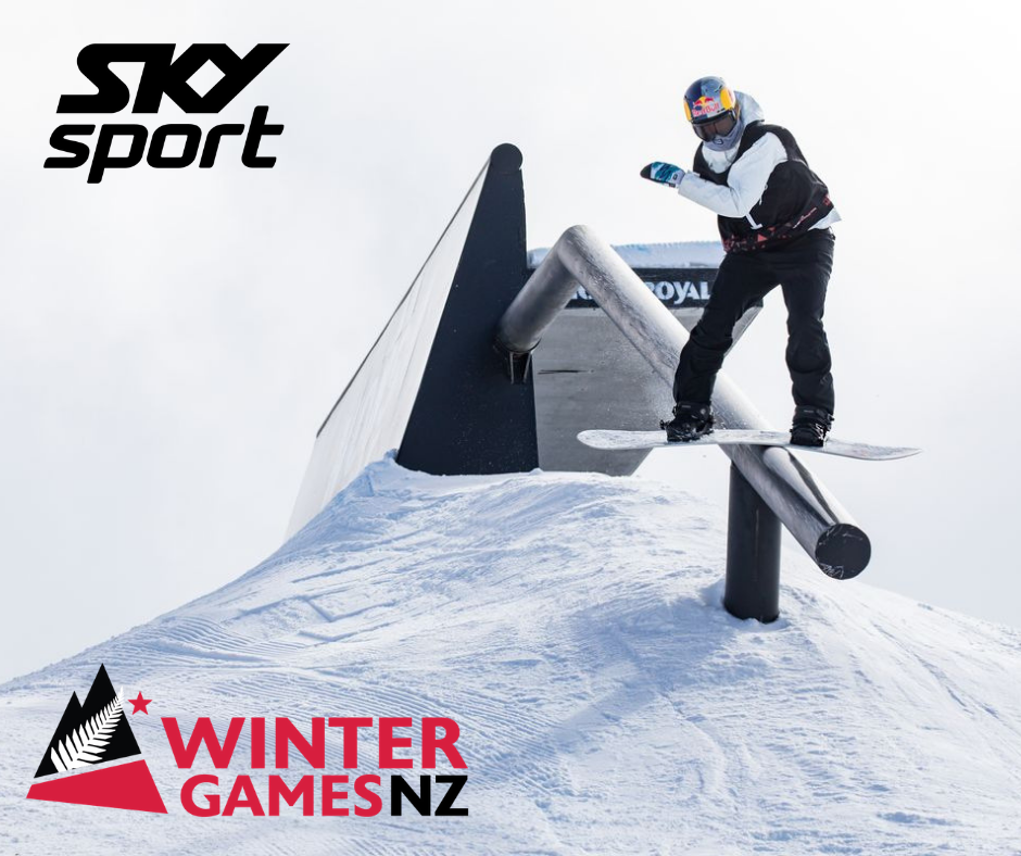 Winter Games NZ has announced that SKY Sport will be the official broadcast partner of the elite international snow sports event in the lead-up to the 2022 Winter Olympic and Paralympic Games in Beijing ©Winter Games NZ