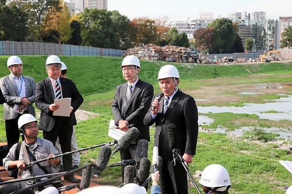 Japanese Ministers revealed today that construction work on the new National Stadium will not start until 2017 ©Getty Images