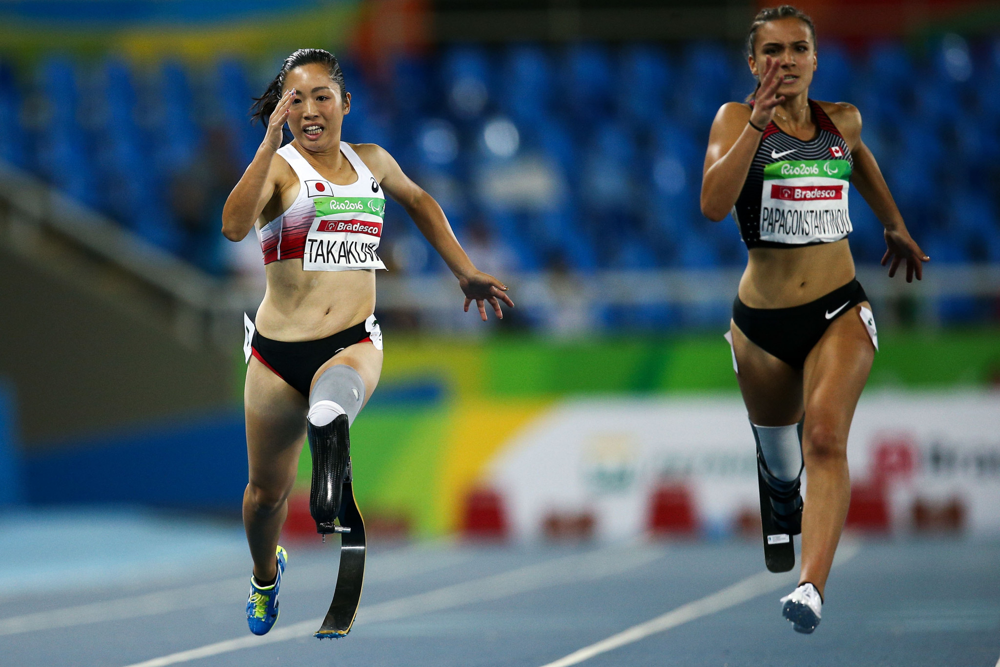 T64 100m sprinter Marissa Papaconstantinou is among the eight athletes named on Canada's team for Lima 2019 that have Paralympic Games experience ©Getty Images