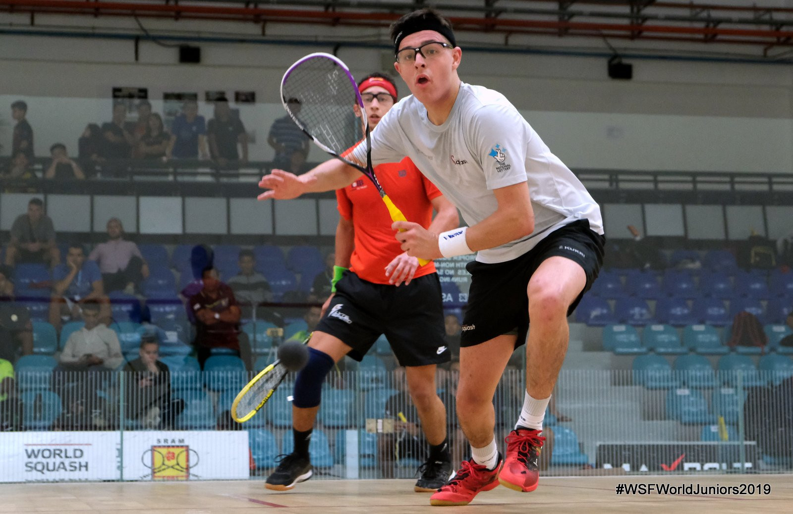 English player causes double surprise on WSF World Junior Championships day three