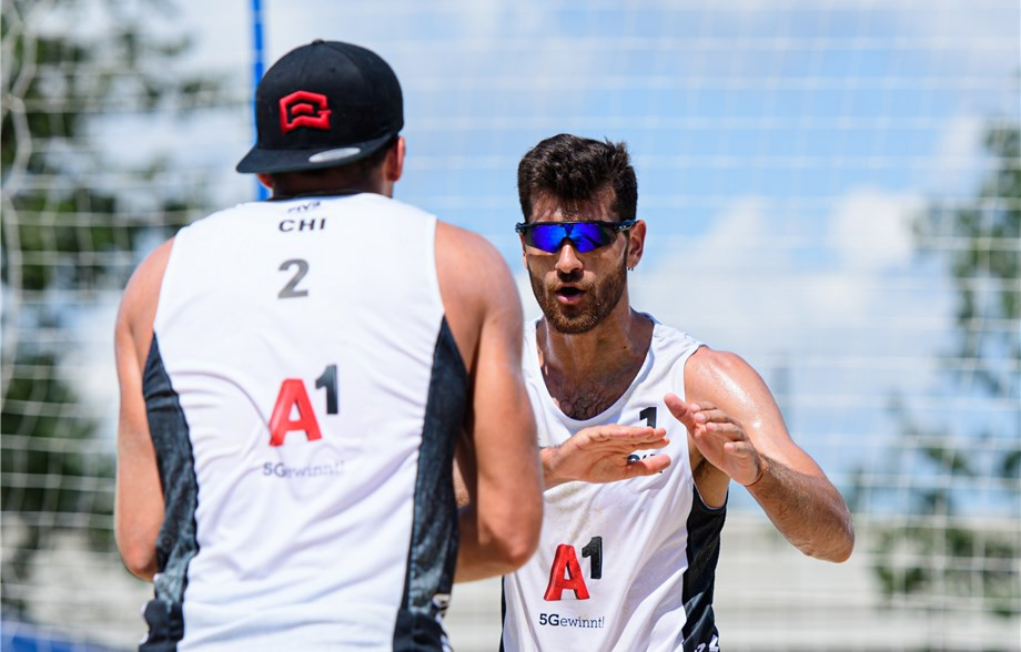 Newly-crowned Pan American Games champions continue impressive form at FIVB Beach World Tour event in Vienna
