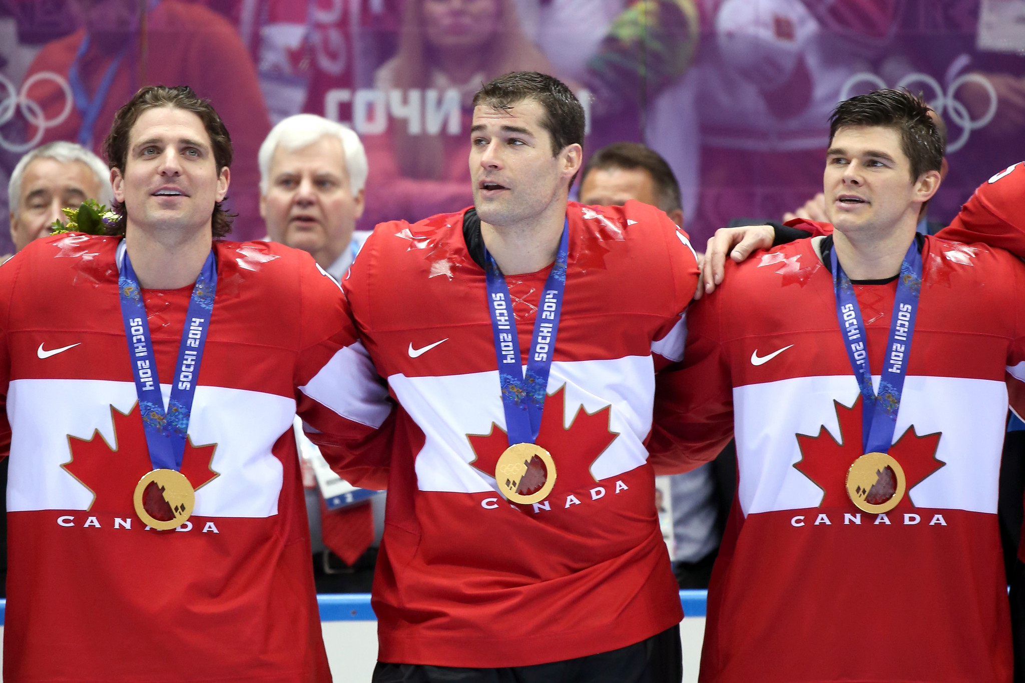 Chris Kunitz was part of the Canada team which won the Olympic gold medal at Sochi 2014 ©Getty Images
