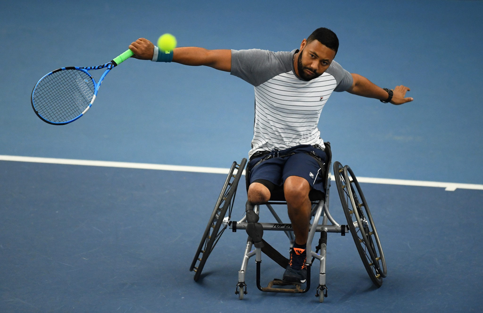Brazil's Daniel Rodrigues fell to home favourite Jef Vandorpe at the Belgian Wheelchair Tennis Open ©Getty Images