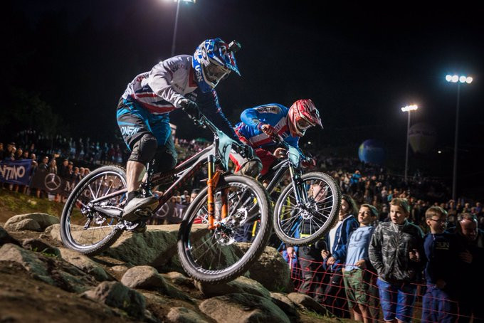 Richter and Slavík qualify fastest at UCI Mountain Bike 4X World Championships