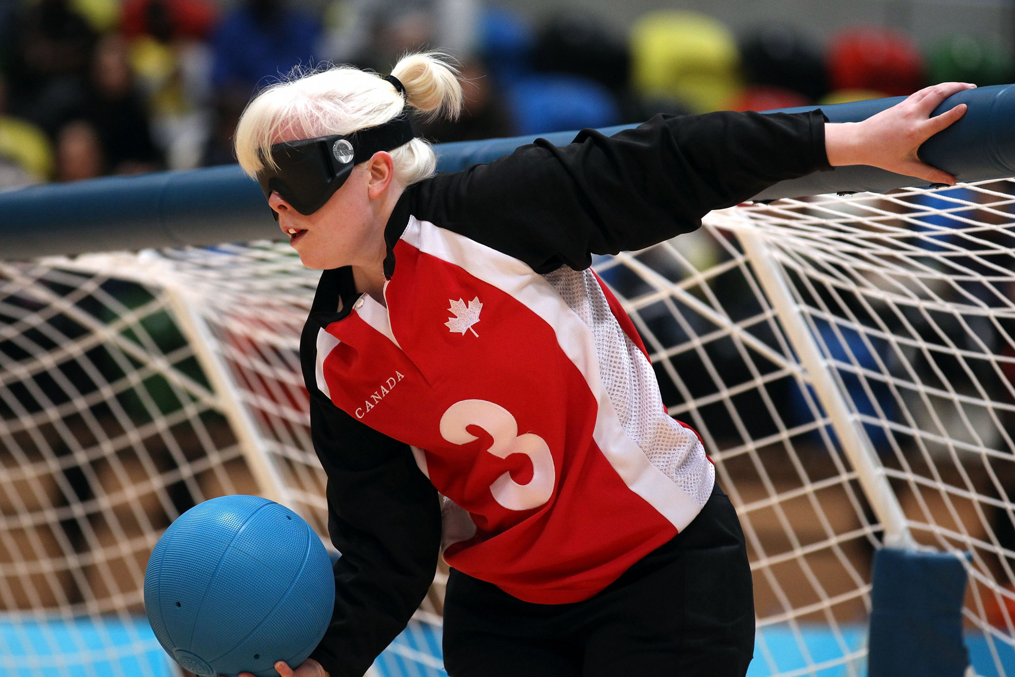 The women's goalball squad at Lima 2019 this month will be led by two-time Paralympian Whitney Bogart, the only returning member from the Toronto 2015 squad ©Getty Images