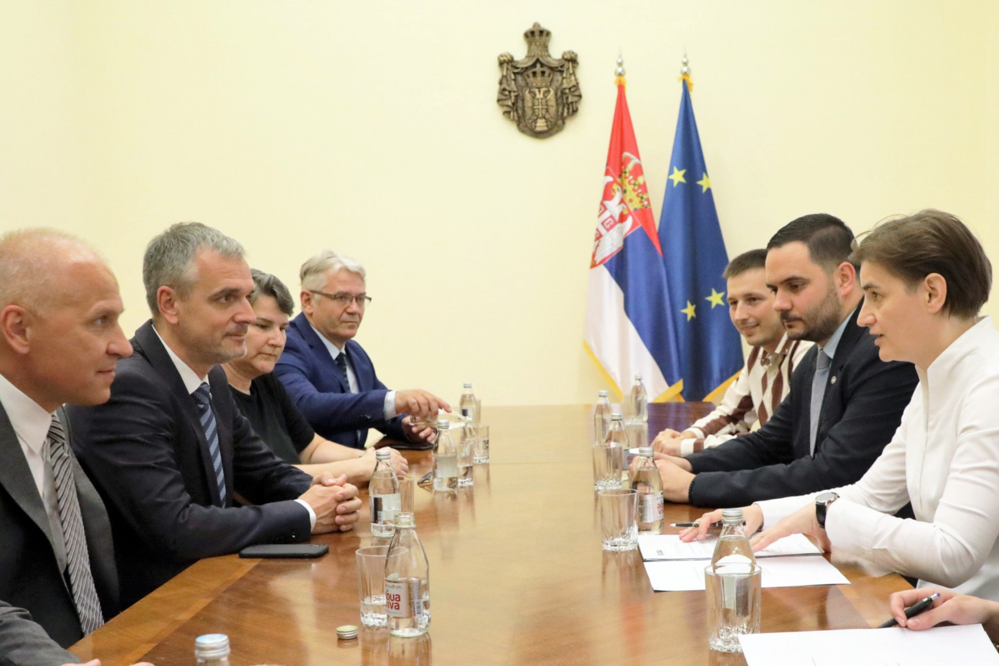 EUSA meet with Serbian Prime Minister ahead of 2020 European Universities Games in Belgrade