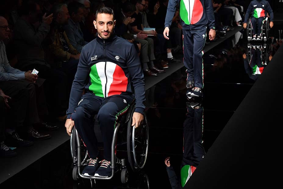 Giorgio Armani has designed the Italian uniforms for the Olympic and Paralympic Games since London 2012 ©Getty Images