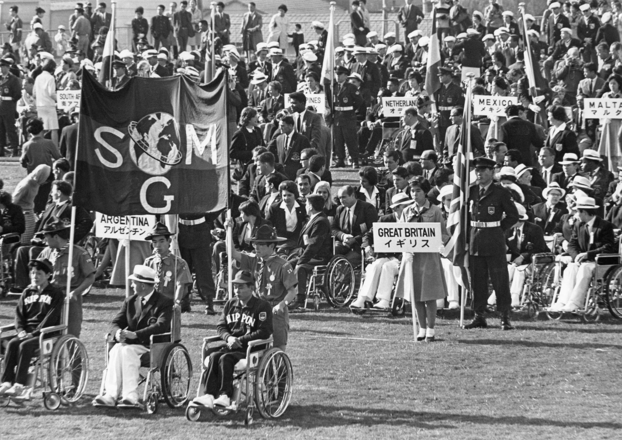 Newly discovered Tokyo 1964 films highlight change in Paralympic Movement