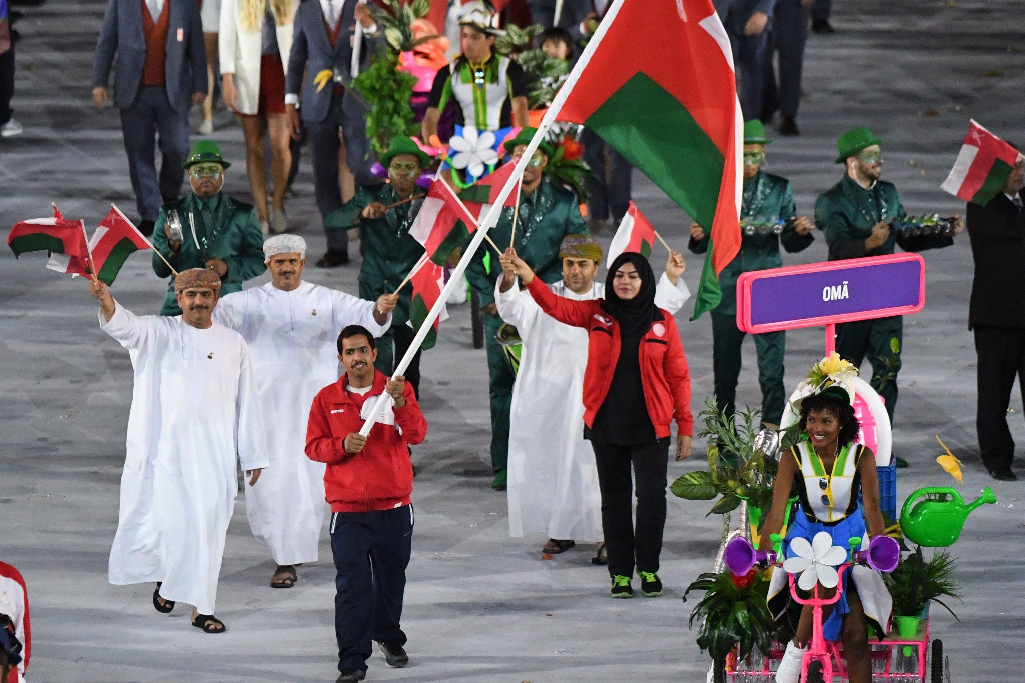 Oman have competed at eight Summer Olympic Games, including Rio 2016 ©Getty Images